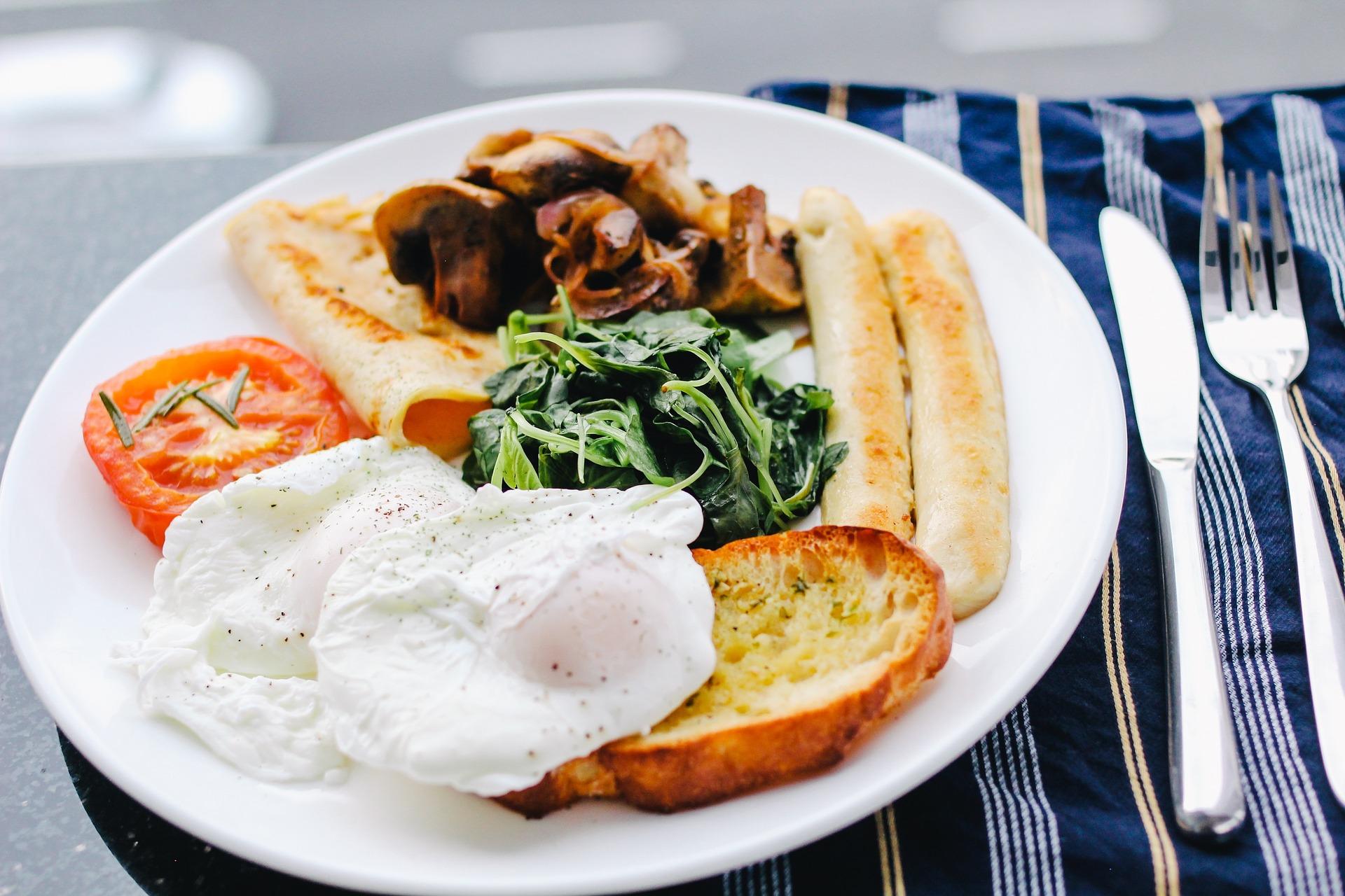 Petit-déjeuner sans lactose
